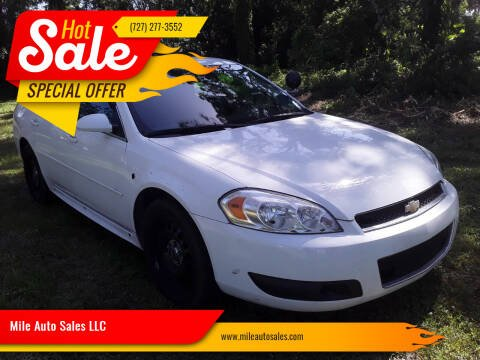 2013 Chevrolet Impala for sale at Mile Auto Sales LLC in Holiday FL