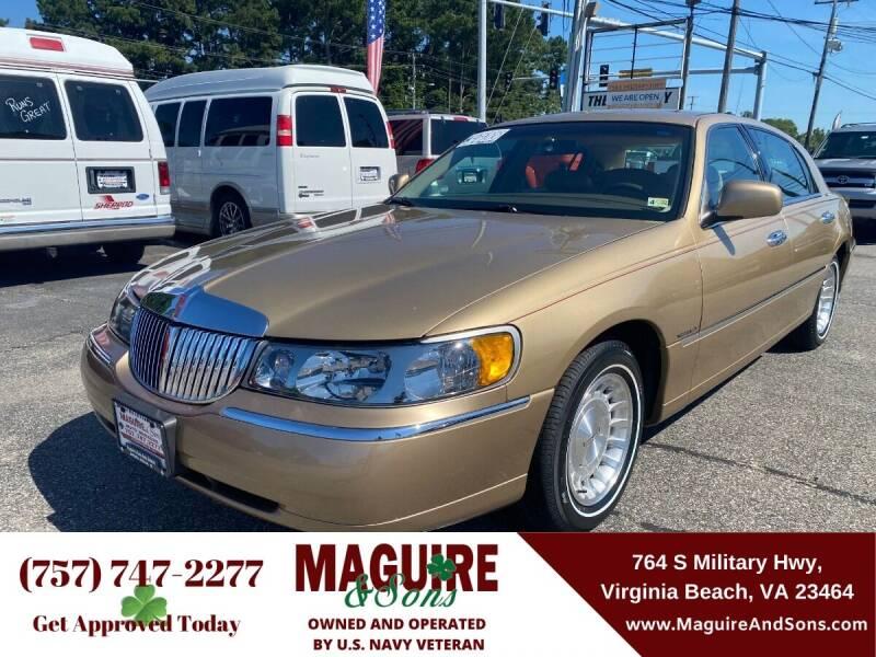1998 Lincoln Town Car for sale in Virginia Beach, VA