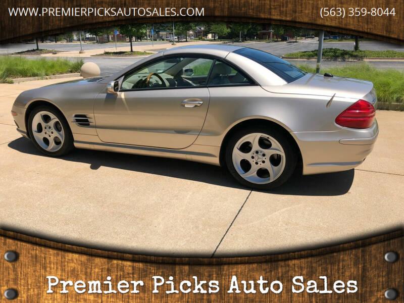 2005 Mercedes-Benz SL-Class for sale at Premier Picks Auto Sales in Bettendorf IA