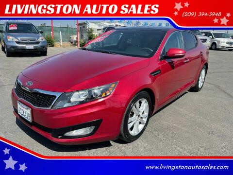 2011 Kia Optima for sale at LIVINGSTON AUTO SALES in Livingston CA
