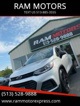 2018 Chevrolet Trax for sale at RAM MOTORS in Cincinnati OH