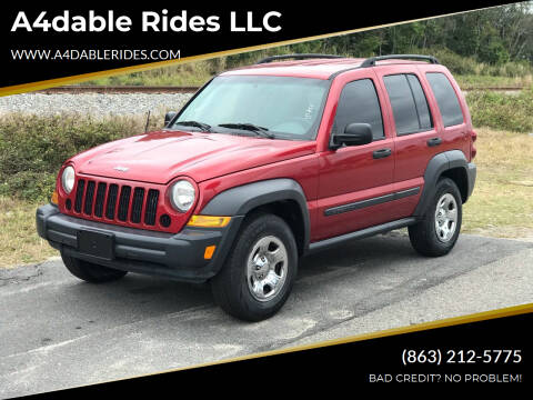 2007 Jeep Liberty for sale at A4dable Rides LLC in Haines City FL