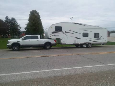 2011 Rockwood Lite weight trailer