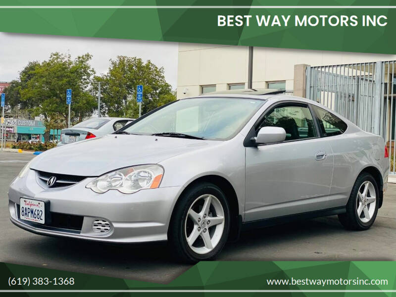 2002 Acura RSX for sale at BEST WAY MOTORS INC in San Diego CA