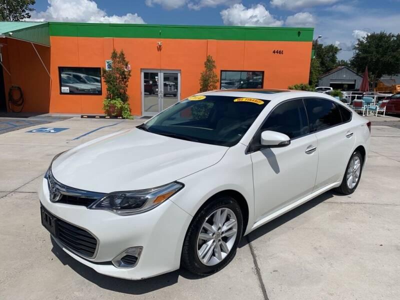 2014 Toyota Avalon for sale at Galaxy Auto Service, Inc. in Orlando FL