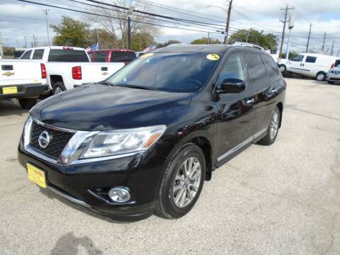 2015 Nissan Pathfinder for sale at BAS MOTORS in Houston TX