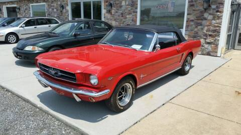 1965 Ford Mustang for sale at Cub Hill Motor Co in Stewartstown PA