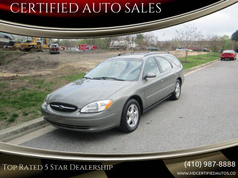 2003 Ford Taurus for sale at CERTIFIED AUTO SALES in Severn MD