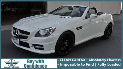 2012 Mercedes-Benz SLK for sale at ASAL AUTOSPORTS in Corona CA