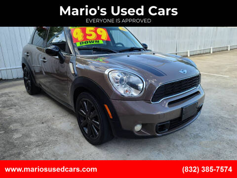 2011 MINI Cooper Countryman for sale at Mario's Used Cars - South Houston Location in South Houston TX