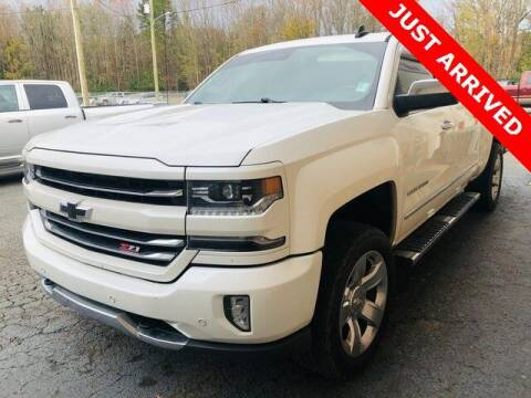 2017 Chevrolet Silverado 1500 for sale at Brandon Reeves Auto World in Monroe NC