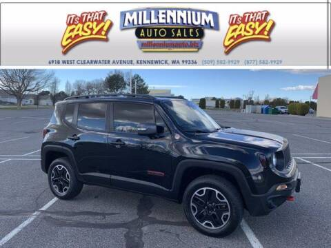 2017 Jeep Renegade for sale at Millennium Auto Sales in Kennewick WA