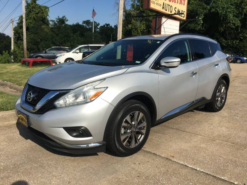 2017 Nissan Murano for sale at Town and Country Auto Sales in Jefferson City MO