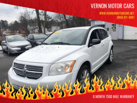2011 Dodge Caliber for sale at VERNON MOTOR CARS in Vernon Rockville CT