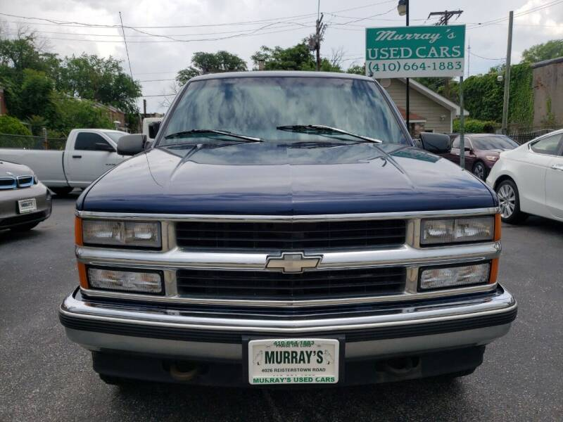 1997 Chevrolet Tahoe for sale at Murrays Used Cars in Baltimore MD