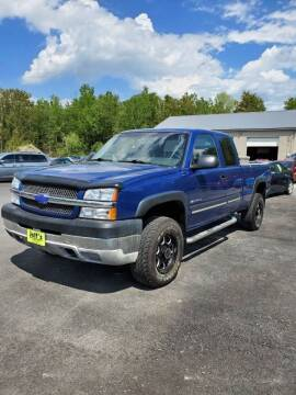 2004 Chevrolet Silverado 2500HD for sale at Jeff's Sales & Service in Presque Isle ME