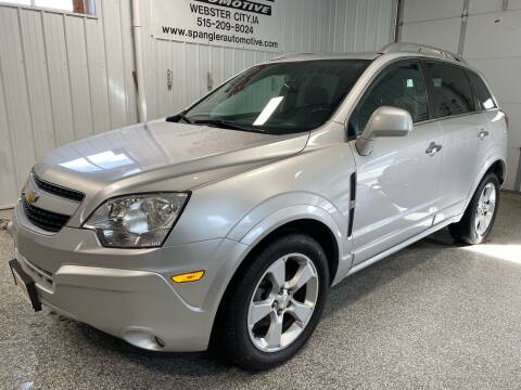 2014 Chevrolet Captiva Sport for sale at SPANGLER AUTOMOTIVE WC LLC in Webster City IA