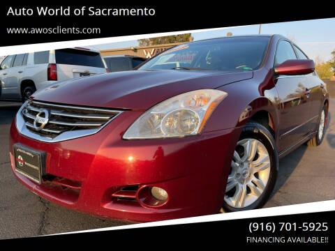 2012 Nissan Altima for sale at Auto World of Sacramento Stockton Blvd in Sacramento CA