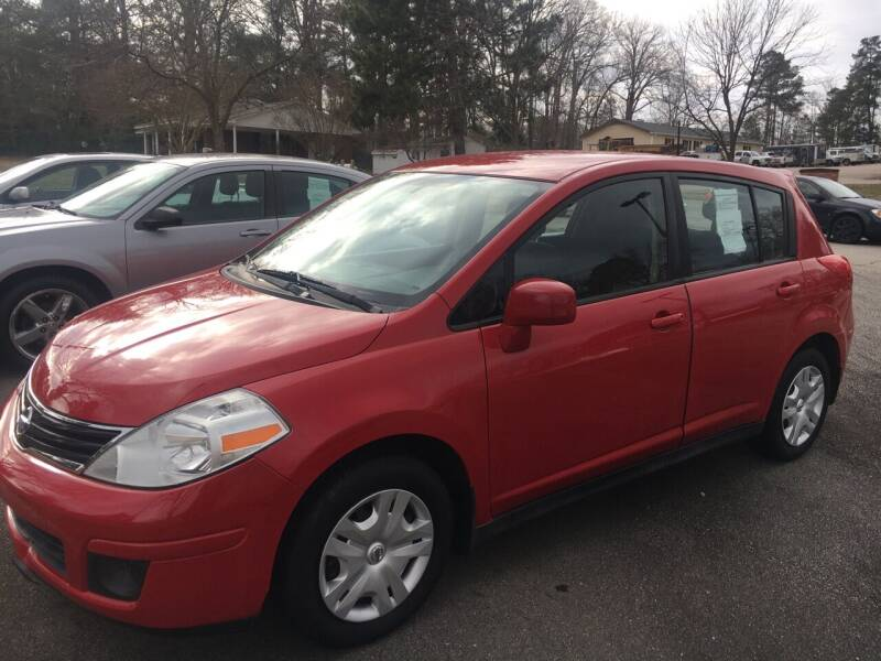 2012 Nissan Versa for sale at O'Quinns Auto Sales, Inc in Fuquay Varina NC