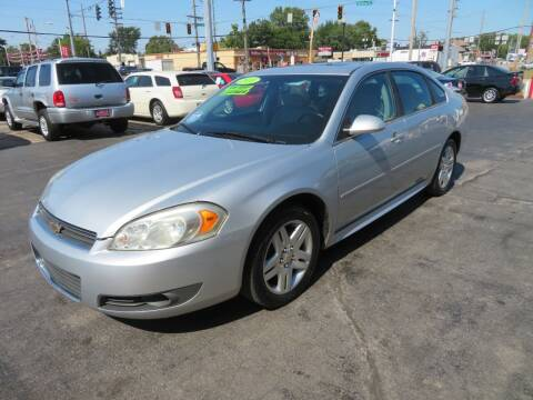 2011 Chevrolet Impala for sale at Bells Auto Sales in Hammond IN