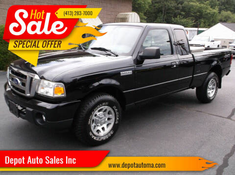 2010 Ford Ranger for sale at Depot Auto Sales Inc in Palmer MA