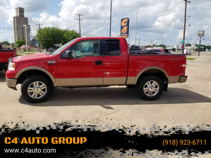2006 Ford F-150 for sale at C4 AUTO GROUP in Claremore OK