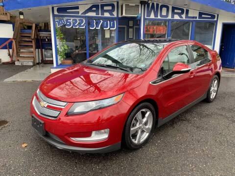 2011 Chevrolet Volt for sale at Car World Inc in Arlington VA