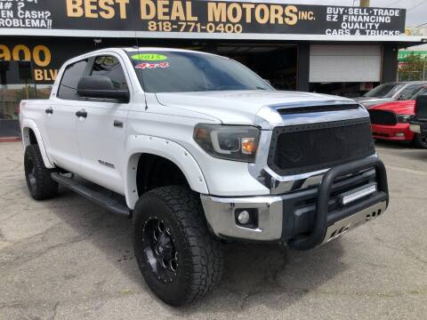 2015 Toyota Tundra for sale at BEST DEAL MOTORS  INC. CARS AND TRUCKS FOR SALE in Sun Valley CA