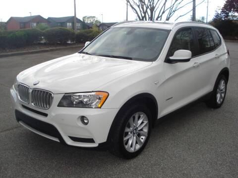 2013 BMW X3 for sale at Uniworld Auto Sales LLC. in Greensboro NC