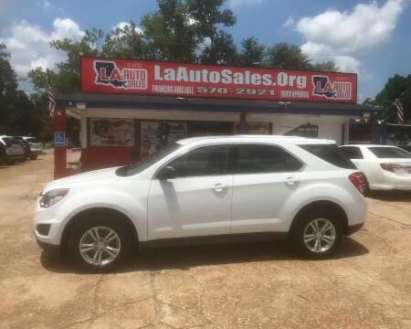 2017 Chevrolet Equinox for sale at LA Auto Sales in Monroe LA