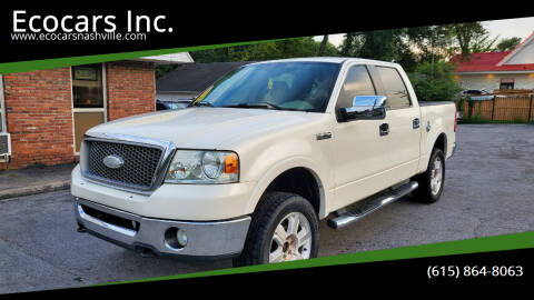 2007 Ford F-150 for sale at Ecocars Inc. in Nashville TN
