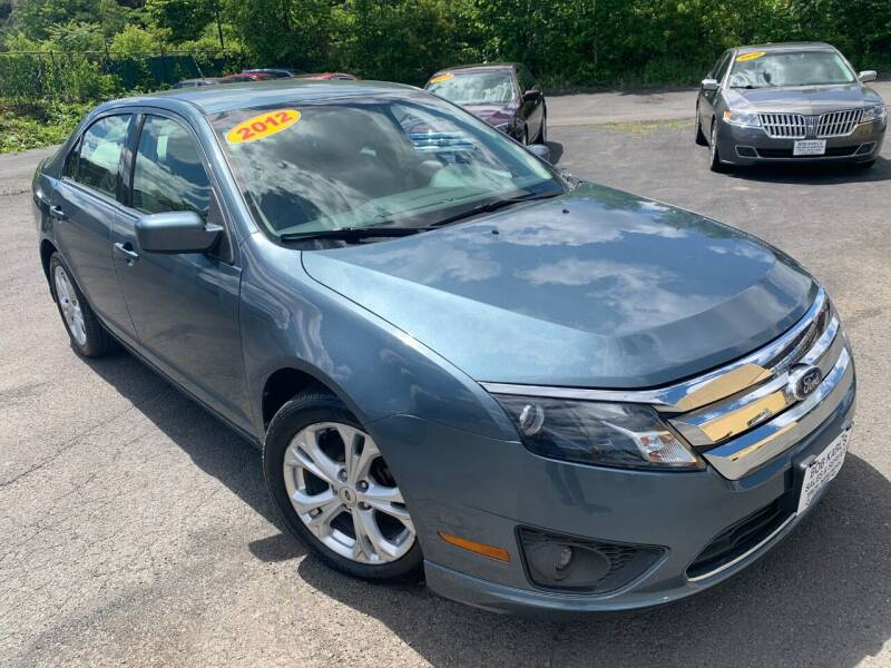 2012 Ford Fusion for sale at Bob Karl's Sales & Service in Troy NY