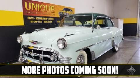 1954 Chevrolet 210 for sale at UNIQUE SPECIALTY & CLASSICS in Mankato MN