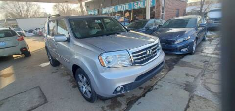 2014 Honda Pilot for sale at Divine Auto Sales LLC in Omaha NE