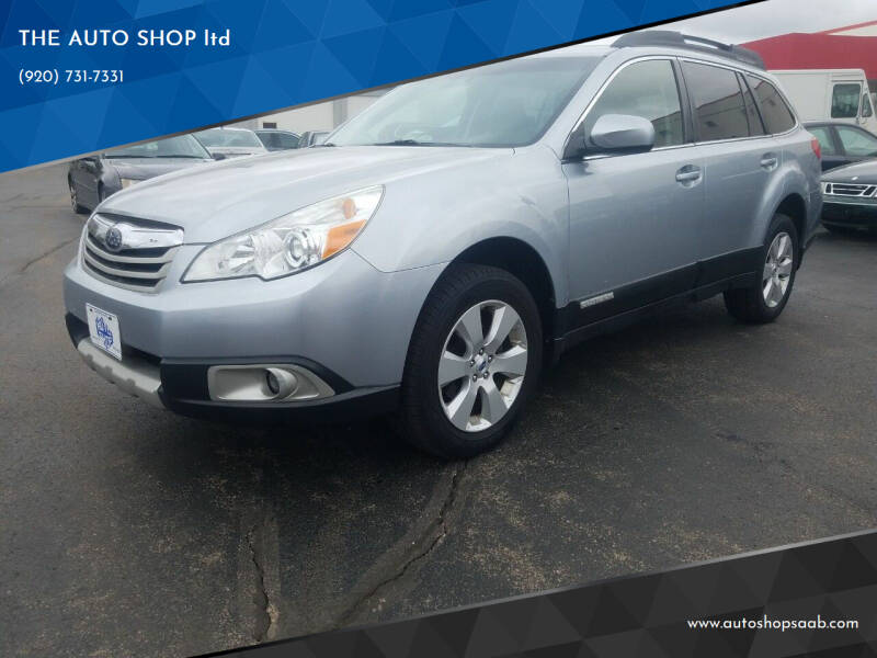2012 Subaru Outback for sale at THE AUTO SHOP ltd in Appleton WI