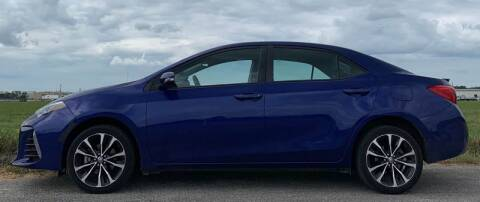 2017 Toyota Corolla for sale at Palmer Auto Sales in Rosenberg TX