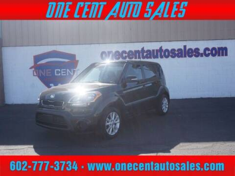 2013 Kia Soul for sale at One Cent Auto Sales in Glendale AZ