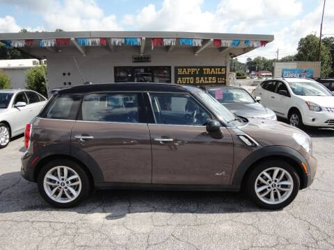 2014 MINI Countryman for sale at HAPPY TRAILS AUTO SALES LLC in Taylors SC