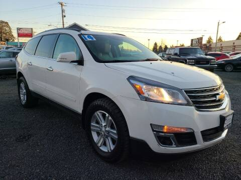2014 Chevrolet Traverse for sale at Universal Auto Sales in Salem OR