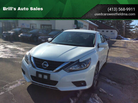 2016 Nissan Altima for sale at Brill's Auto Sales in Westfield MA