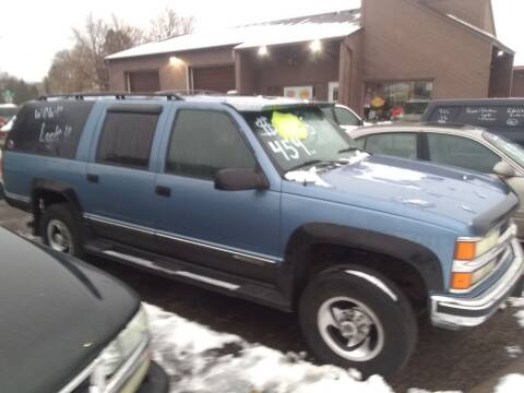 1996 Chevrolet Suburban for sale at Continental Auto Sales in White Bear Lake MN