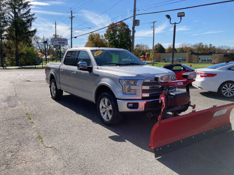 2015 Ford F-150 for sale at JERRY SIMON AUTO SALES in Cambridge NY