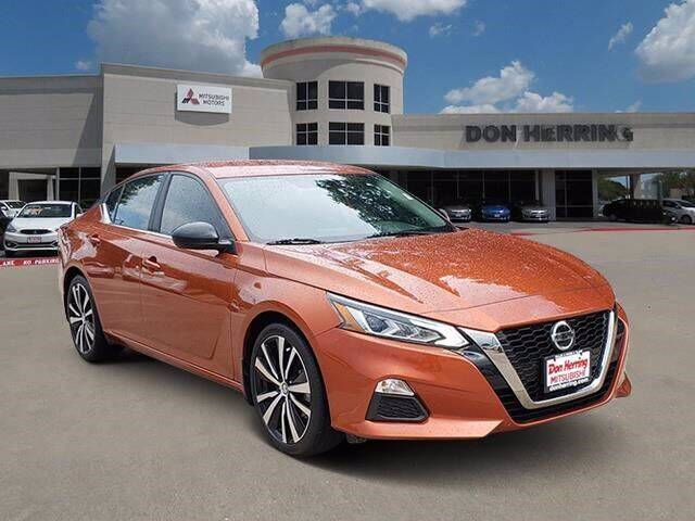 2020 Nissan Altima for sale at Don Herring Mitsubishi in Plano TX