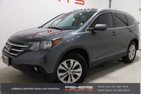2014 Honda CR-V for sale at Fishers Imports in Fishers IN