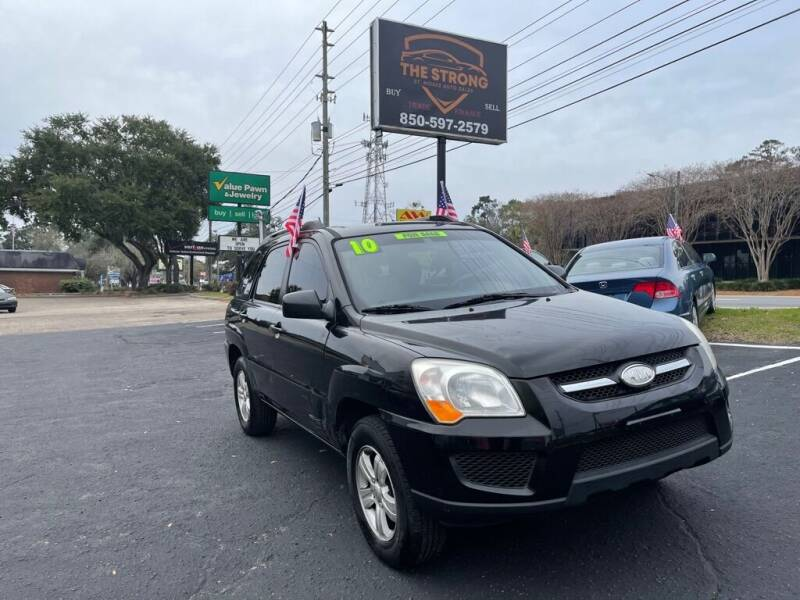 2010 Kia Sportage for sale at The Strong St. Moses Auto Sales LLC in Tallahassee FL