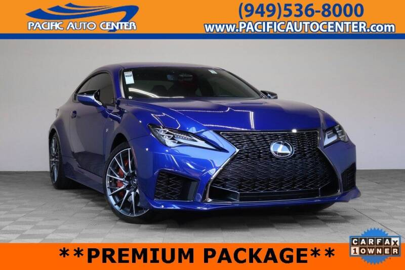 2020 Lexus RC F for sale in Fontana, CA