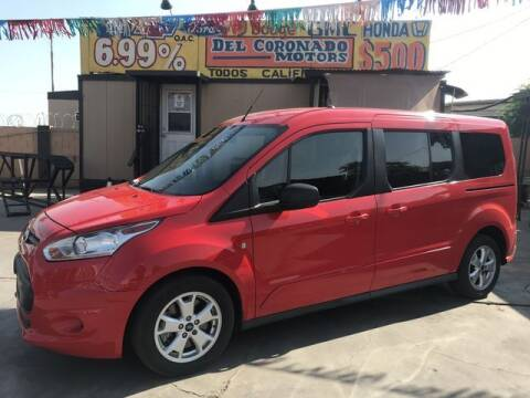 2016 Ford Transit Connect Wagon for sale at DEL CORONADO MOTORS in Phoenix AZ