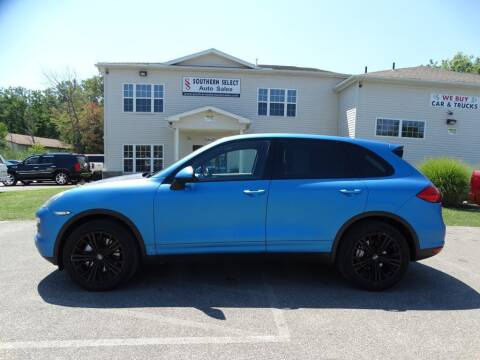 2012 Porsche Cayenne for sale at SOUTHERN SELECT AUTO SALES in Medina OH