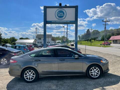2014 Ford Fusion for sale at Corry Pre Owned Auto Sales in Corry PA