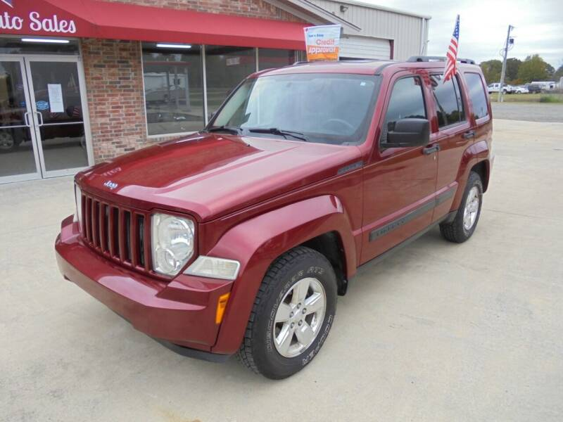 2012 Jeep Liberty for sale at US PAWN AND LOAN in Austin AR